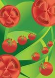 Abstrakter Hintergrund der Tomate Stockfotos