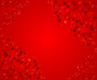 Abstrakter Hintergrund der Valentinsgrüße Stockbilder