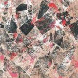 Abstrakter Hintergrund der Weinlese Stockbild