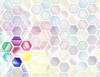 Abstrakter Hintergrund der Wissenschaft Stockbild