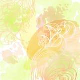 Abstrakter Hintergrund des Aquarells Stockbild