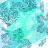 Abstrakter Hintergrund des Aquarells Lizenzfreies Stockfoto