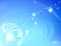 Abstrakter Hintergrund des Atoms Lizenzfreie Stockfotos