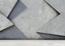 Abstrakter Hintergrund des Betons Stockfotos