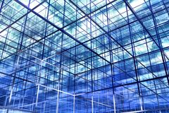Abstrakter Hintergrund des Blaus 3D Lizenzfreie Stockfotografie