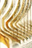 Abstrakter Hintergrund des Drahts u. des Metalls Lizenzfreies Stockbild