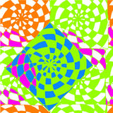 Abstrakter Hintergrund des geometrischen Musterzeichnens Stockbilder