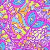 Abstrakter Hintergrund des geometrischen Musterzeichnens Lizenzfreies Stockfoto