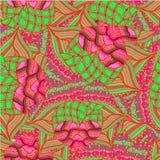 Abstrakter Hintergrund des geometrischen Musterzeichnens Lizenzfreies Stockbild