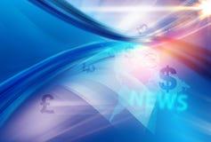 Abstrakter Hintergrund des Geschäfts Lizenzfreies Stockbild