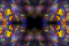 Abstrakter Hintergrund des Kaleidoskops Stockfotografie