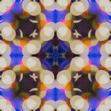 Abstrakter Hintergrund des Kaleidoskops Stockbild