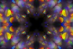 Abstrakter Hintergrund des Kaleidoskops Lizenzfreies Stockfoto