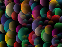 Abstrakter Hintergrund des Kreises Lizenzfreies Stockfoto