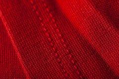 Abstrakter Hintergrund des luxuriösen roten Gewebes Lizenzfreie Stockfotos