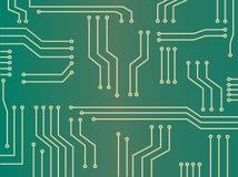 Abstrakter Hintergrund des Mikrochips Lizenzfreie Stockbilder