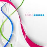 Abstrakter Hintergrund des modernen Designs Stockfoto