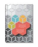 Abstrakter Hintergrund des Papier-3D stock abbildung