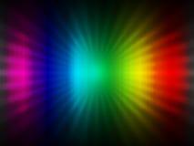 Abstrakter Hintergrund des Regenbogens Stockfotografie