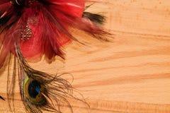 Abstrakter Hintergrund des schönen Vogelpfaus Stockbild