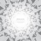 Abstrakter Hintergrund des Sternes sprengte - Vektor eps10 Stockbilder
