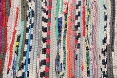 Abstrakter Hintergrund des Trikots der verschiedenen Farben Stockbilder