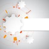 Abstrakter Hintergrund des Vektors der technologischen Innovation Stockfotos
