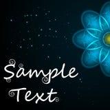 Abstrakter Hintergrund des Vektors mit Beispieltext Vervollkommnen Sie für Einladungen, Karte, Mitteilung oder Grüße Platz für Ih Lizenzfreie Stockbilder