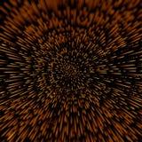 Abstrakter Hintergrund des Vektors mit Stern-Verzerrung des offenen Raumes oder Hyperspace Reise Stockfoto