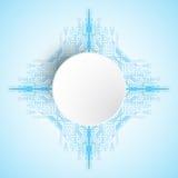 Abstrakter Hintergrund des Vektors zeigt die Innovation der Technologie und der Technologiekonzepte Stockfotos