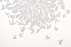 Abstrakter Hintergrund des Vogels Lizenzfreie Stockfotos