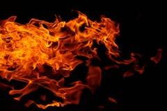 Abstrakter Hintergrund des wilden kampierenden Feuers des Busches lizenzfreie stockbilder