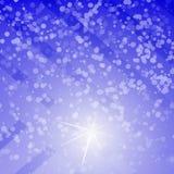 Abstrakter Hintergrund des Winters Stockfoto