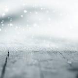 Abstrakter Hintergrund des Winters Stockfotografie