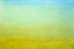 Abstrakter Hintergrund durch Aquarellanstrich Stockbilder