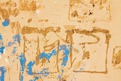 Abstrakter Hintergrund einer grungy gemalten Wand stockfotografie