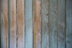 Abstrakter Hintergrund einer schäbigen Holzoberfläche gemalt im Blau, Lizenzfreie Stockfotografie