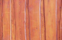 Abstrakter Hintergrund eines lackierten hölzernen Brettzauns lizenzfreies stockbild