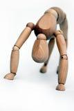 Abstrakter Hintergrund eines Mannequins Lizenzfreies Stockbild