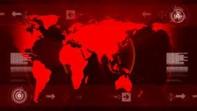 Abstrakter Hintergrund für Kommunikation und Nachrichten lizenzfreie abbildung