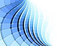 Abstrakter Hintergrund für Visitenkarte Lizenzfreies Stockbild