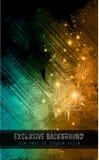 Abstrakter Hintergrund für Visitenkarte Stockfoto