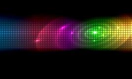 Abstrakter Hintergrund-Farbstreifen stock abbildung