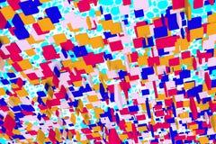 Abstrakter Hintergrund Farbwürfel 2 Lizenzfreies Stockfoto
