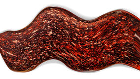 Abstrakter Hintergrund in Form von heißer Lava vektor abbildung
