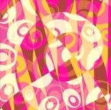 Abstrakter Hintergrund - Gelb - Rosa Stockfoto