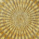 Goldenes Starburst. Lizenzfreie Stockbilder