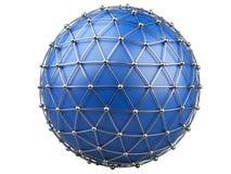 Abstrakter Hintergrund, Kommunikationstechnologie Lizenzfreies Stockfoto