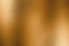 Abstrakter Hintergrund, metallische Blattbronzewelle der Beschaffenheit stockfotografie