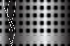 Abstrakter Hintergrund. Metalzelle lizenzfreie abbildung